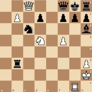 check mate in one